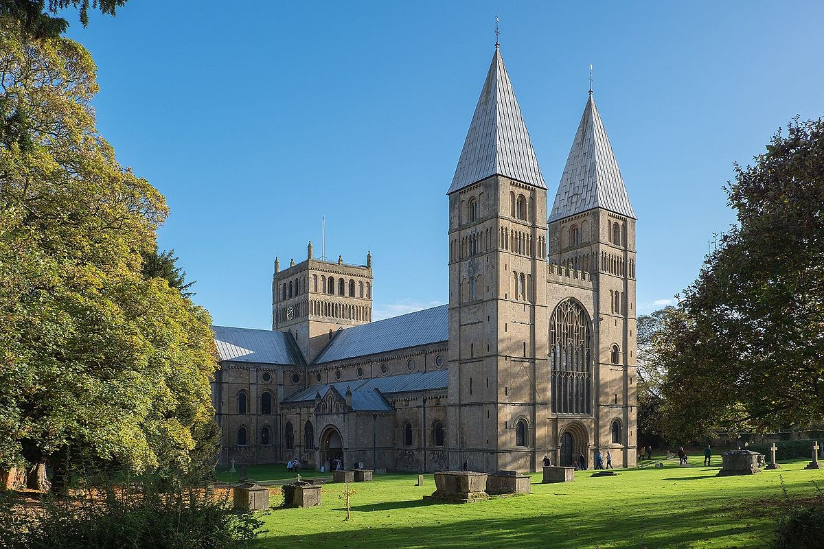 Romanesque And Gothic Architecture Of Southwell Minster