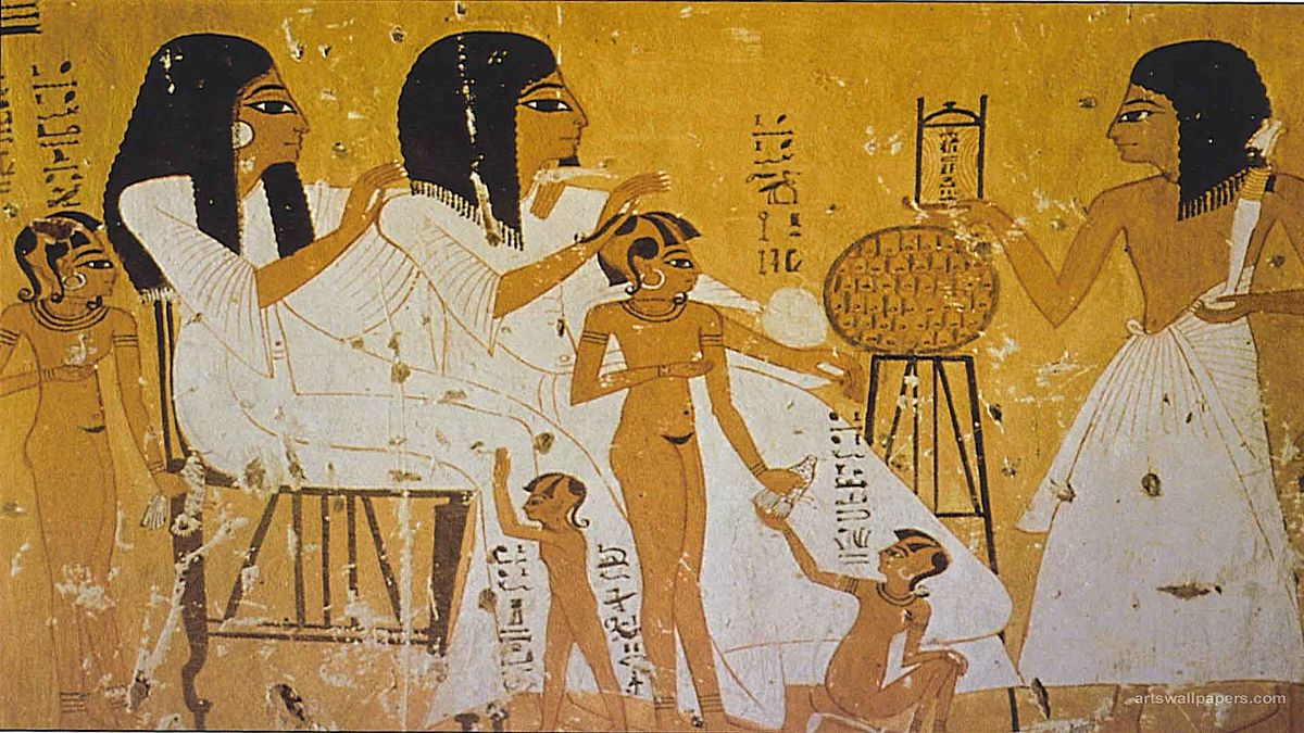 What is a tax in ancient Egypt Definition, value 50