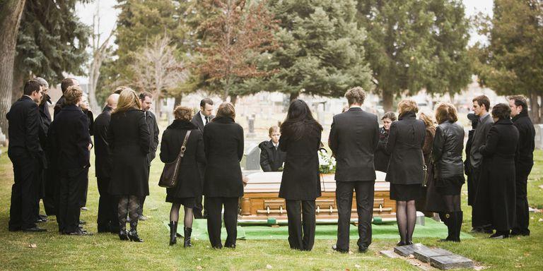 человека незнакомого сонник похороны