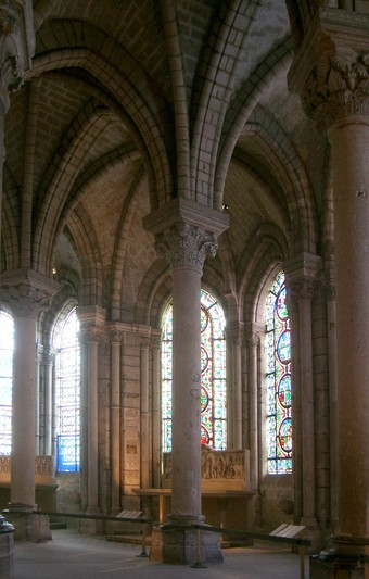 Ambulatory At St. Denis: We Can See The Gothic Style Emerge At St. Denis In  Abbot Sugeru0027s Re Designs.