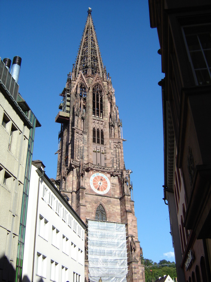 It Is The Only Gothic Church Tower In Germany Completed Middle Ages 1330 That Survived November 1944 Bombing Raids Destroyed All Of