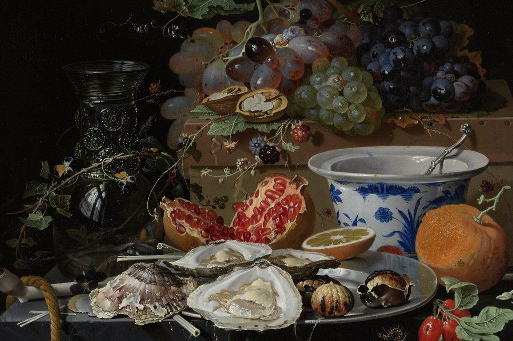 medieval still england fruit bowl mignon early modern aphrodisiacs 1660 food abraham aphrodisiac sexual rijksmuseum 1679 oysters porcelain ages middle