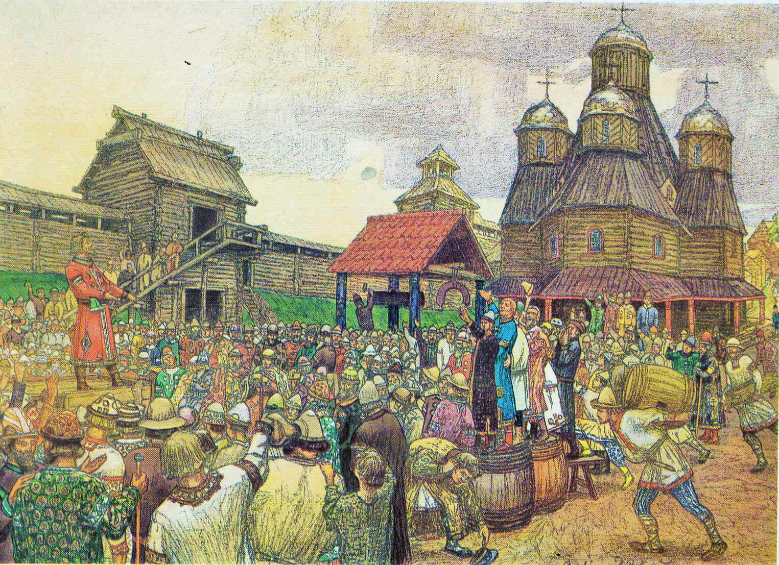 History of Ancient Russia: Briefly about Vladimir Monomakh 51