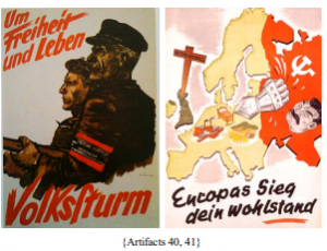 analysis of nazi poster propaganda techniques Review the purpose of nazi propaganda and common practices: propaganda powerpoint [ppt, 313 mb] when prompted, use the questions on this worksheet to deconstruct the nazi propaganda images at the right.