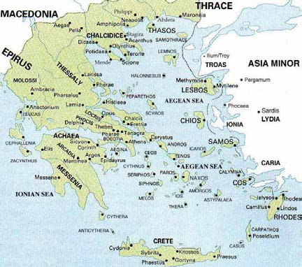 Rebuilding Ancient Greece Dark Ages To Olympics