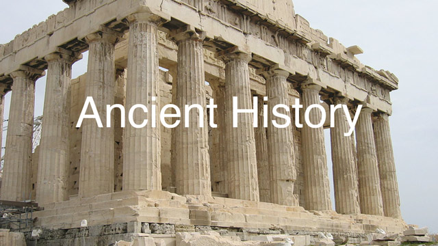 why bother with learning about ancient history part one
