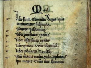 L0024511 Western Manuscript 801a the Bury Articella