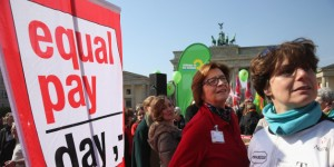 Women Rally On Equal Pay Day