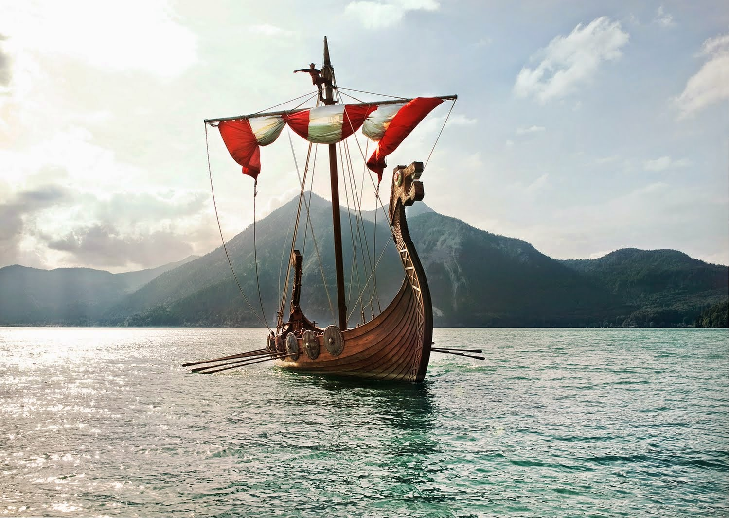 Viking longship creative commons