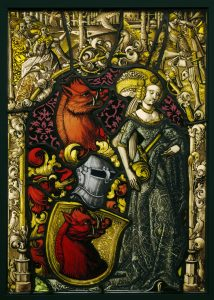Heraldic Panel with the Arms of the Eberler Family