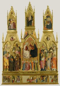 Polyptych with Coronation of the Virgin and Saints