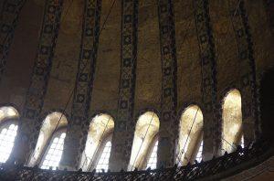 Windows, Rim of Dome, Hagia Sophia