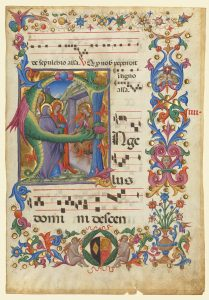 letters to santa di paolo s shimmering worlds on parchment and panel 1471