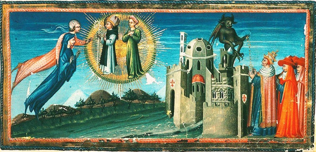 Giovanni di Paolo's Shimmering Worlds on Parchment and Panel