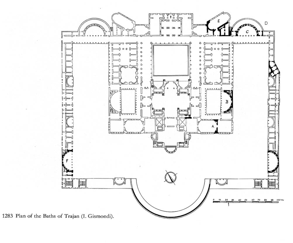 The Mother Of All Forums Civic Architecture In Rome Under Trajan Romans 8 Block Diagram Baths