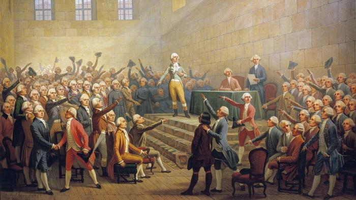 the french revolution the king must die so that the country can live