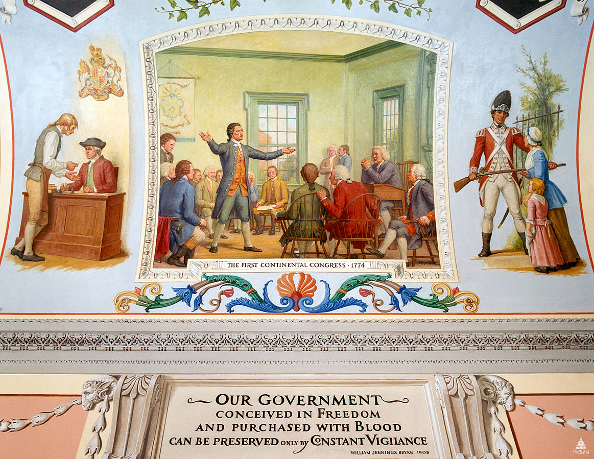 The First Continental Congress  Radicals  Loyalists  And