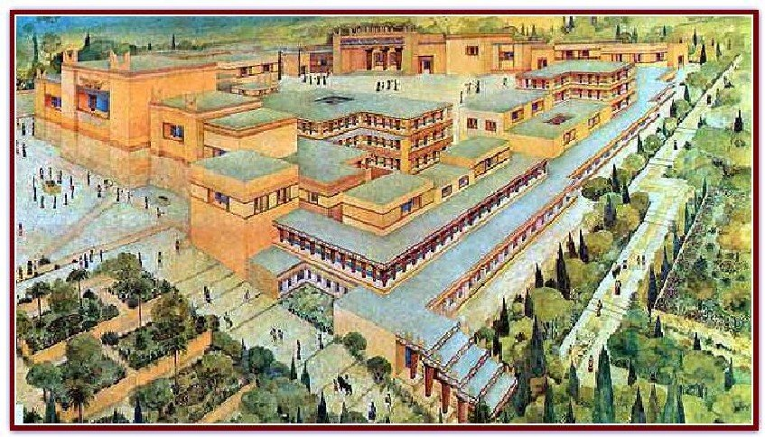 similarities between minoans and mycenaeans