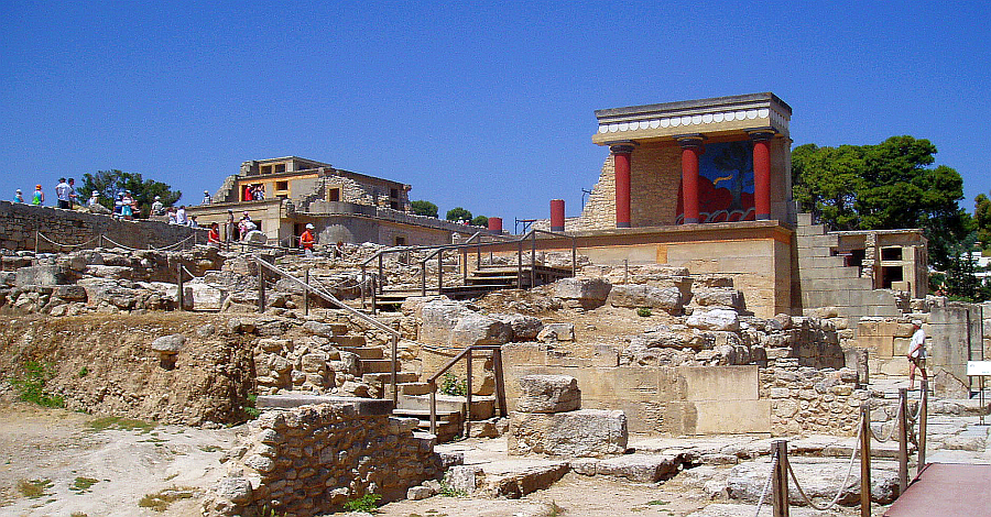 Minoan Architecture The Palaces
