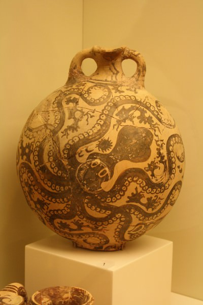 Late Minoan Painting, Frescoes, Pottery, and Other ...