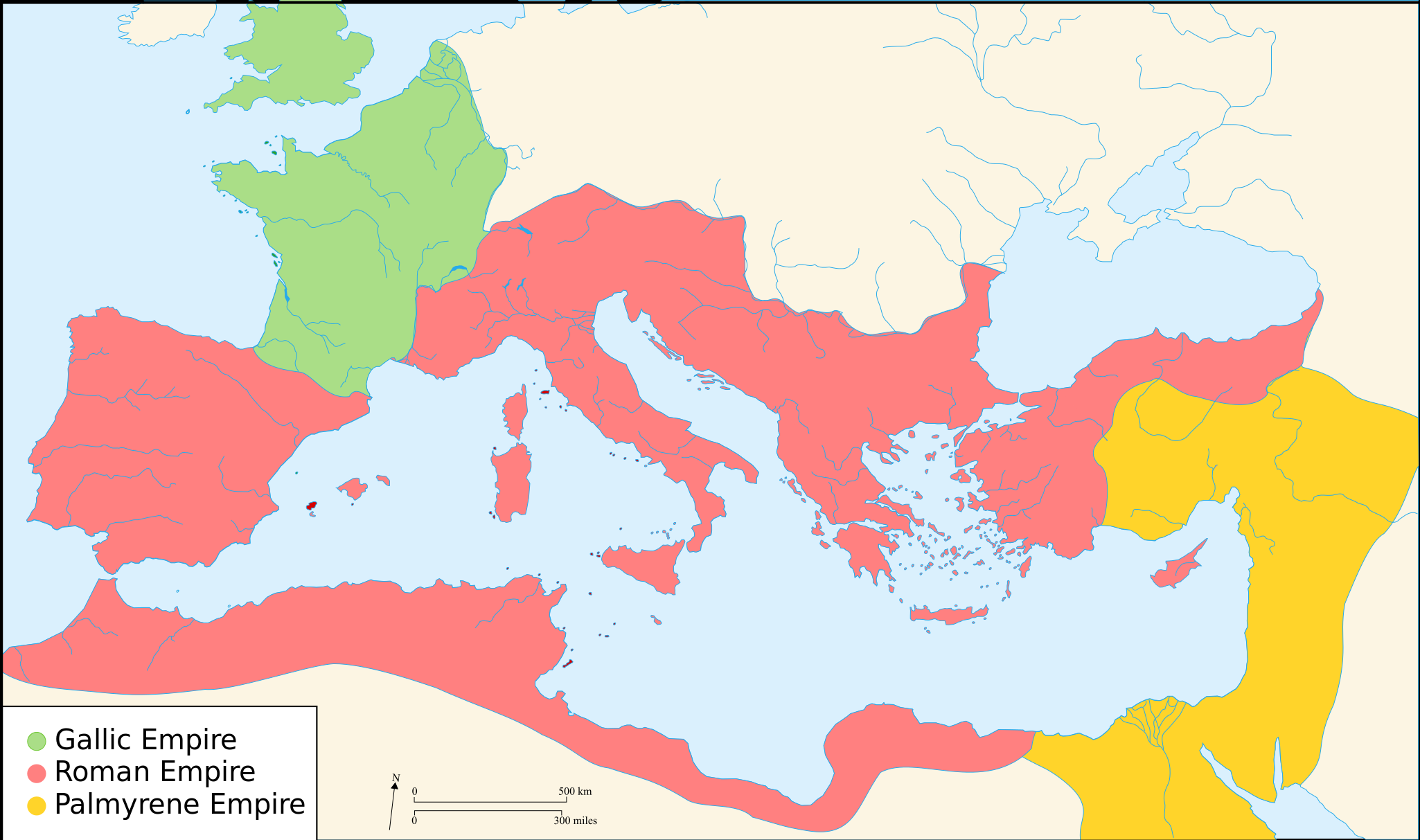 Late Roman Empire Map.The Roman World Monarchy Republic Empire And Collapse