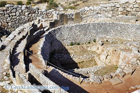 The Shaft Graves Of Mycenae