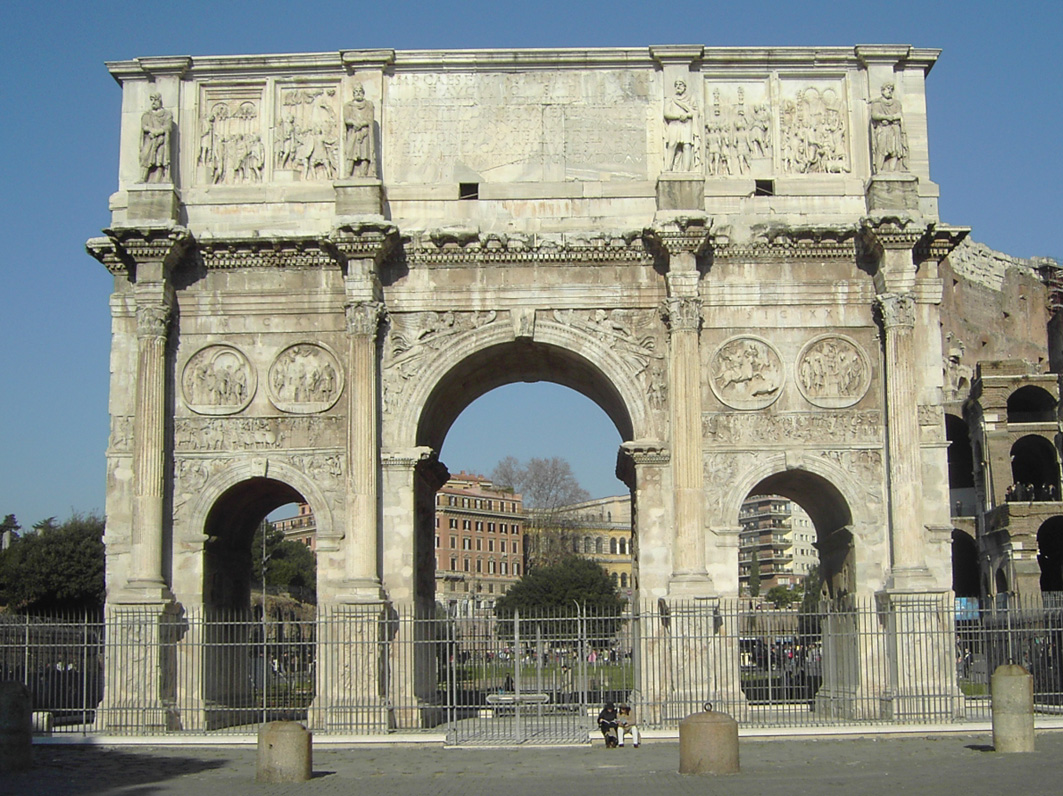 Pagan to Christian: The Transformation of Rome
