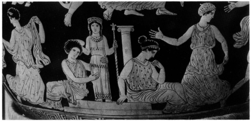 Changing Modes In The Representation Of Cult Images On Ancient Greek Vases