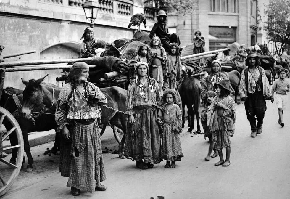 The Medieval Arrival of the Gypsies on the Territory of Romania