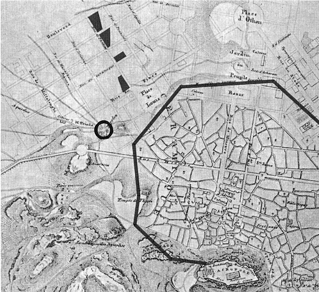 Athens In The 19th Century: The Neighbourhood Of Metaxourgeion