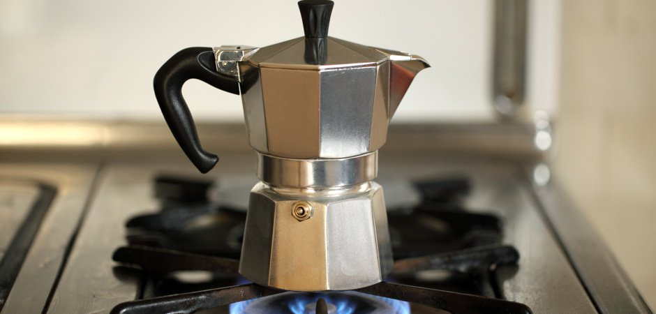 Brewing coffee with the moka pot | blue bottle.