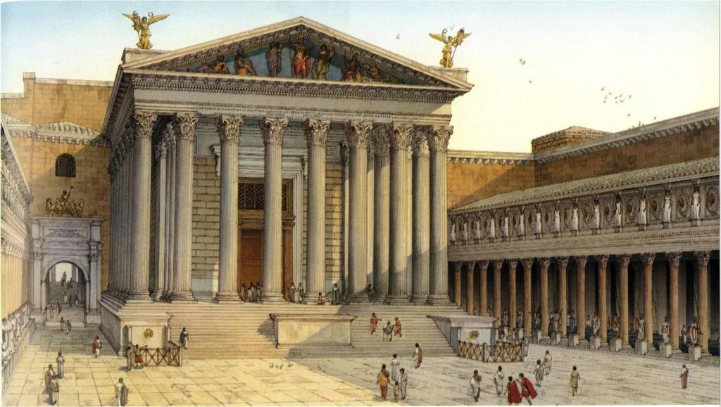 A Modern Analysis of Vitruvian Influence on Ancient Roman