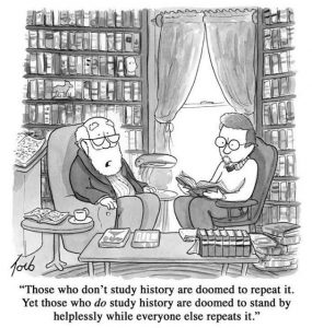 Does History Repeat Itself? Not Exactly, but It Rhymes