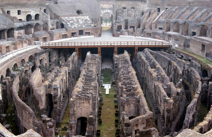 Engineering Of The Flavian Ampitheatre Roman Colosseum