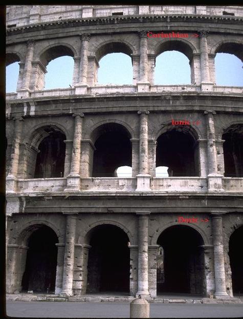 Engineering Of The Flavian Ampitheatre  Roman Colosseum   U2013 Brewminate