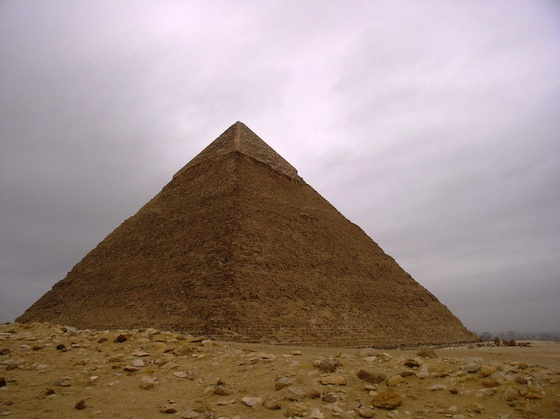 The Pyramids Of Khufu Khafre Menkaure And The Great
