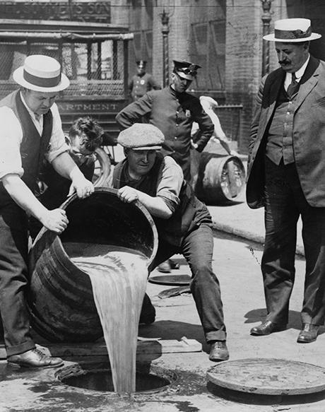 The History of Alcohol Temperance and Prohibition in America