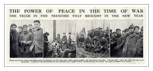 Christmas Truce Of 1914.World War I And The Christmas Truce Of 1914