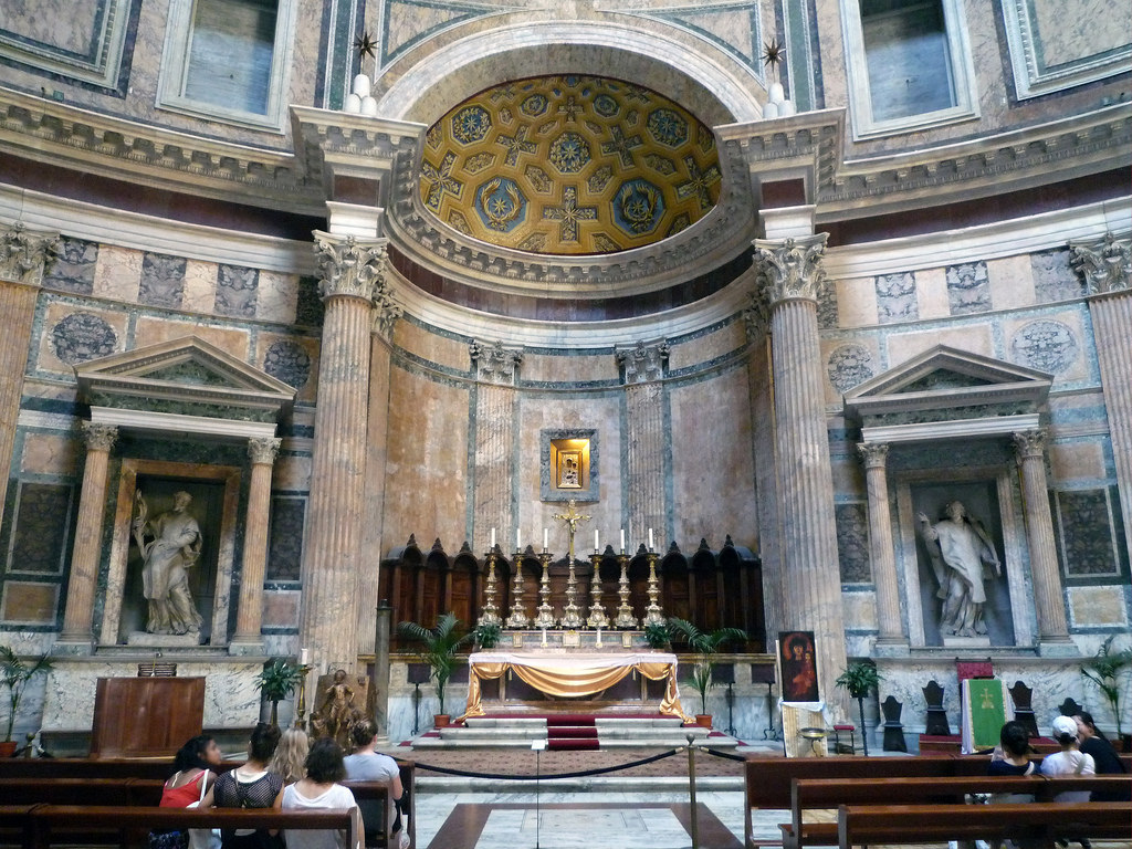 The Roman Pantheon Eighth Wonder Of The Ancient World