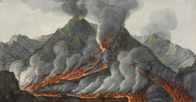 Volcano Observer Sir William Hamilton And Mount Vesuvius