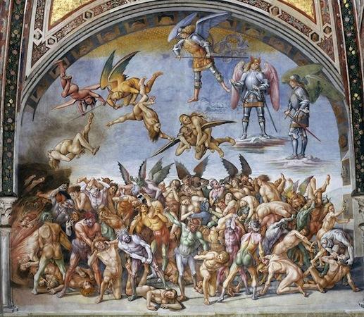 Three-Dimensionality in Signorelli's Orvieto Cathedral