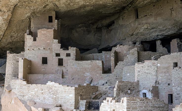 Mesa Verde Ancestral Puebloan Homes In Cliffs