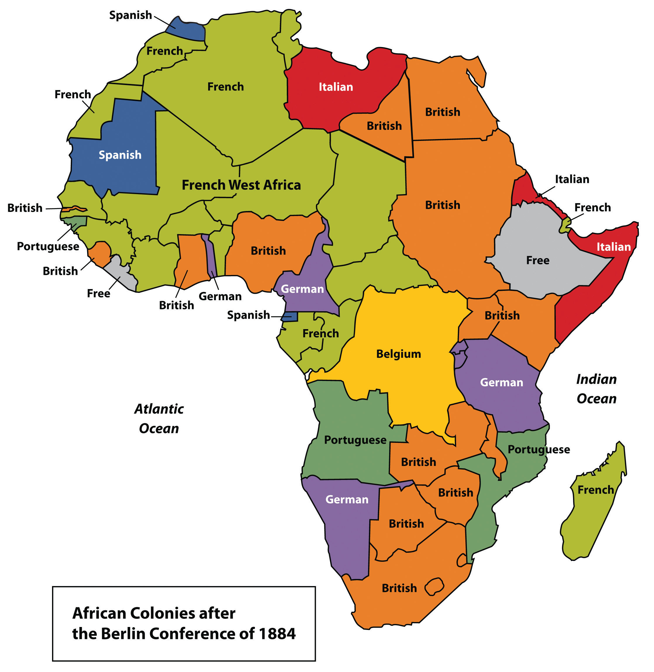 Map Of Africa Geography.A Geographical Analysis Of Sub Saharan Africa