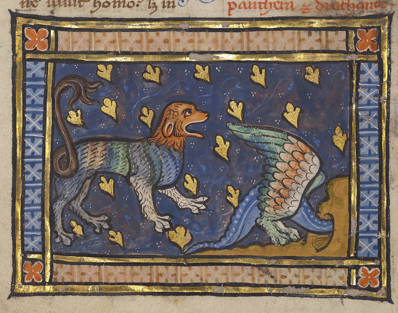 The Panther Alpha And Omega Of The Medieval Bestiary Brewminate