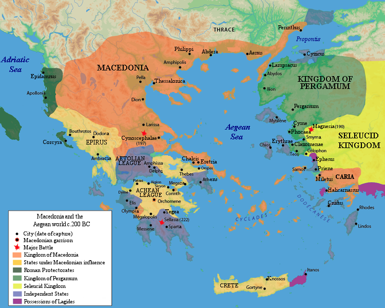 The Ancient Greek Achaean League Aligned For The Common Defense