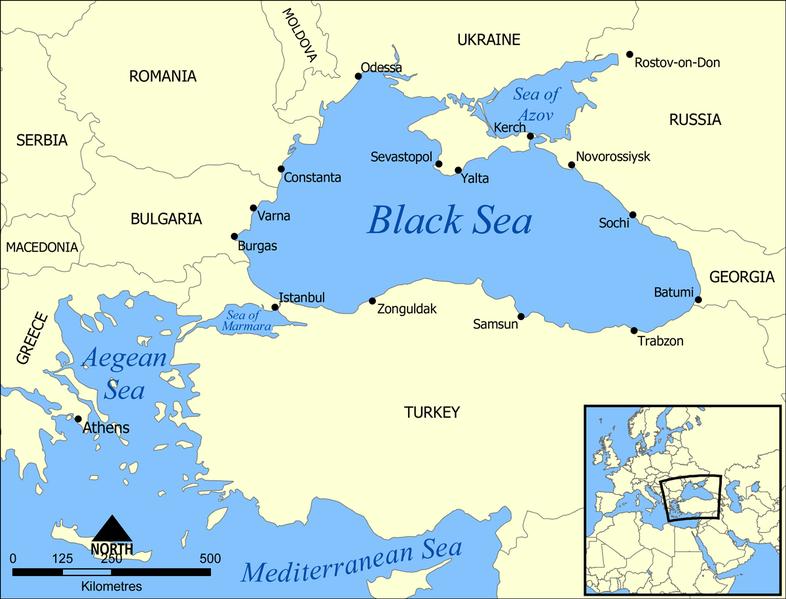 Map Of Asia Minor 60 Ad.Roman Era Map Shows Large Now Sunken Island Off Black Sea Coast