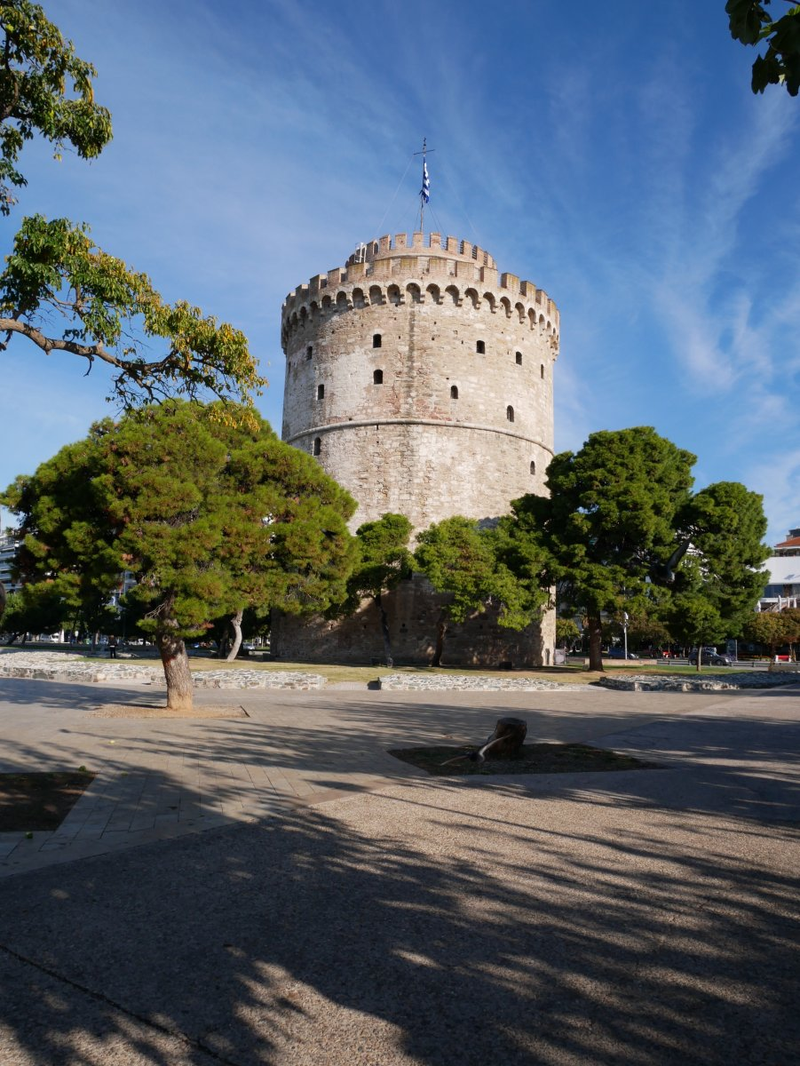 865d8be92e View of the White Tower in Thessaloniki