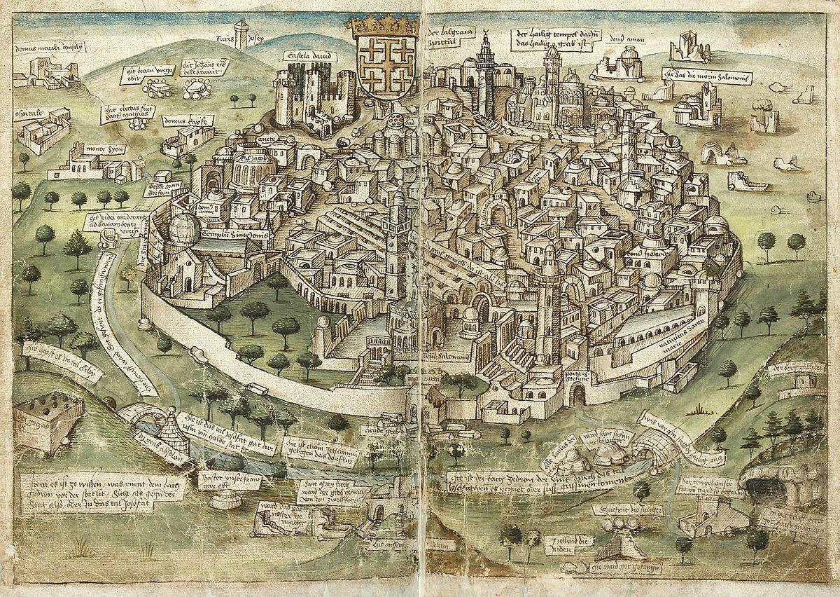 The Rise and Fall of the Kingdom of Jerusalem Following the ... Crusader Jerusalem Map on jerusalem home, jerusalem compass, jerusalem marathon, jerusalem before crusades, jerusalem atlas,