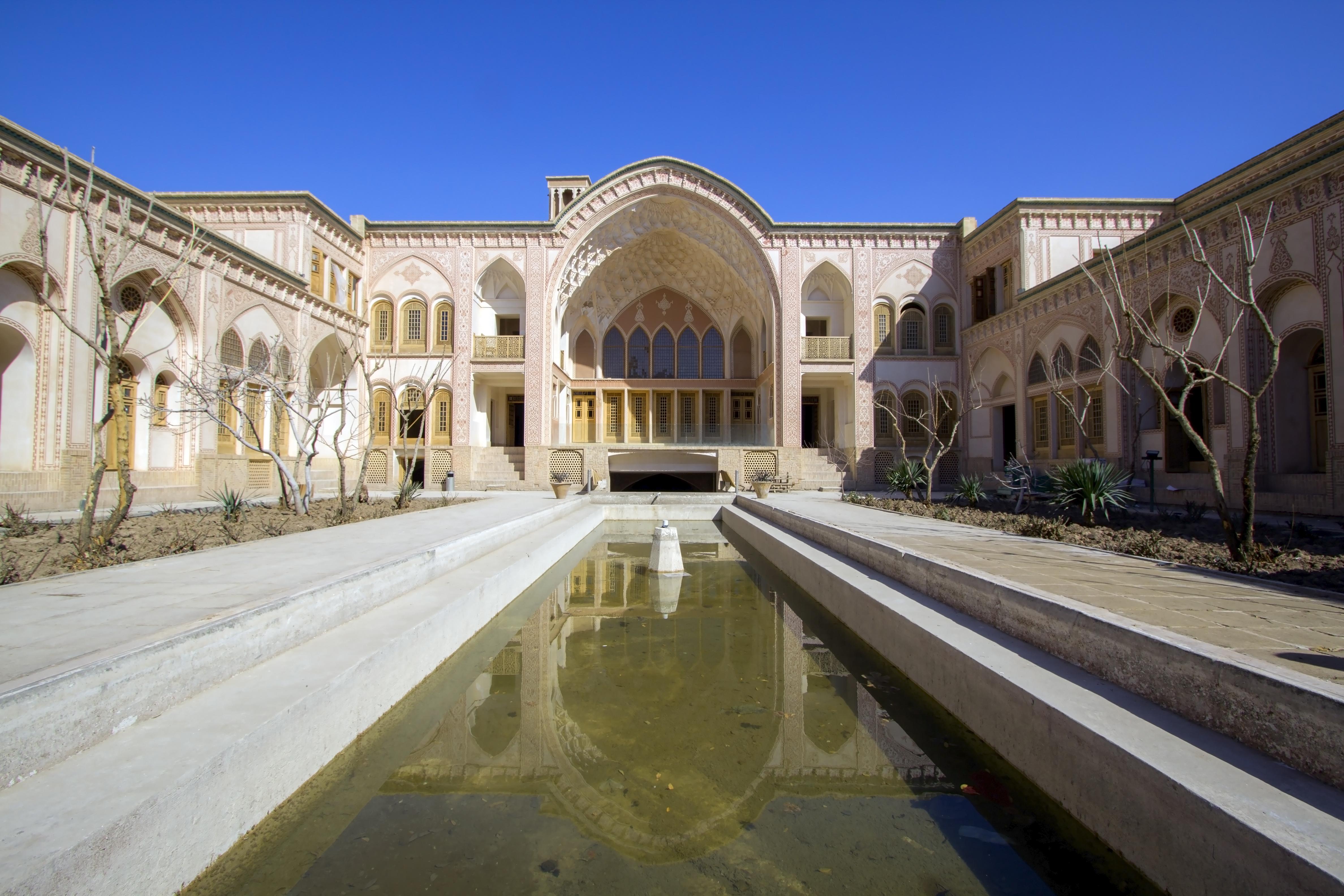 ornament in contemporary iranian architecture