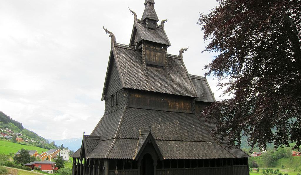 The Wooden Churches Of Medieval Norway